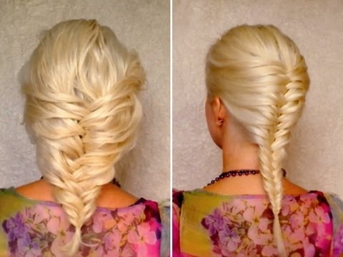 Braids for Medium Hair Medium length fishtail braid