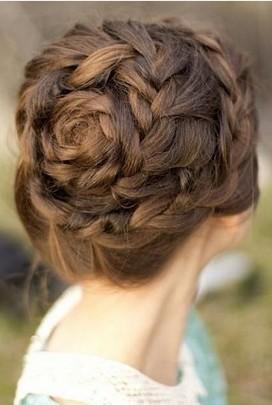 Dutch braid hairstyles formal braided updo