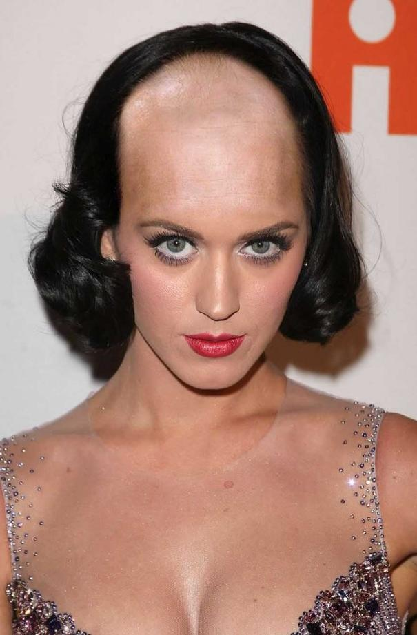 Funny Hairstyles for Girls front shaved with back bob cut