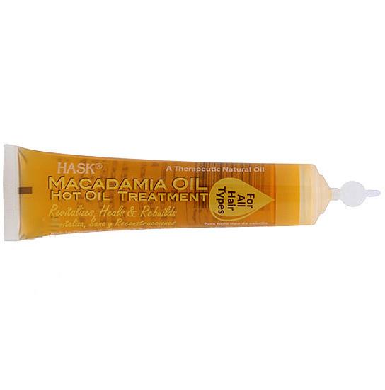 Hot Oil Treatments for Damaged Hair Macadamia oil