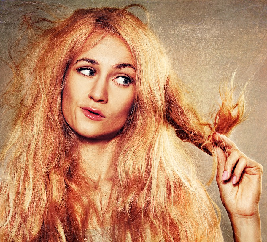 Hot Oil Treatments for Damaged Hair Split ends