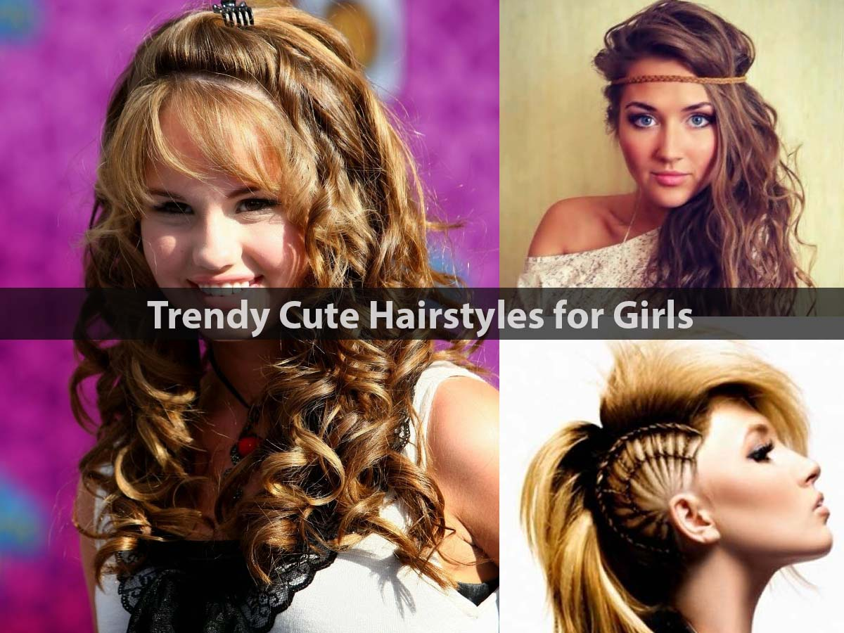 Trendy Cute Hairstyles for Girls