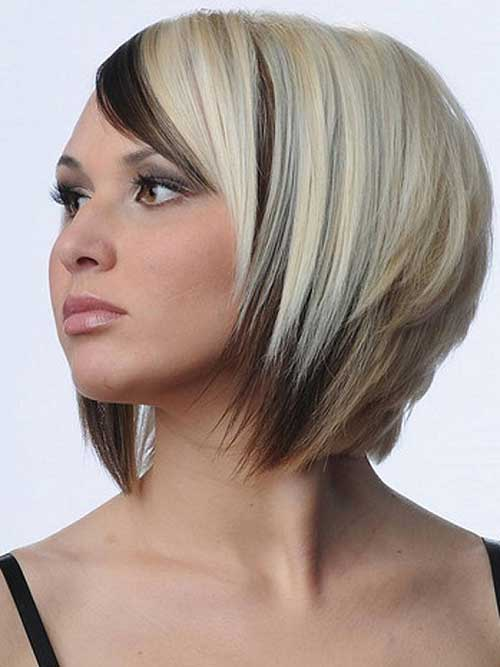 Two Tone Hair color Designs for Your Especial Hair brown lights with black hair