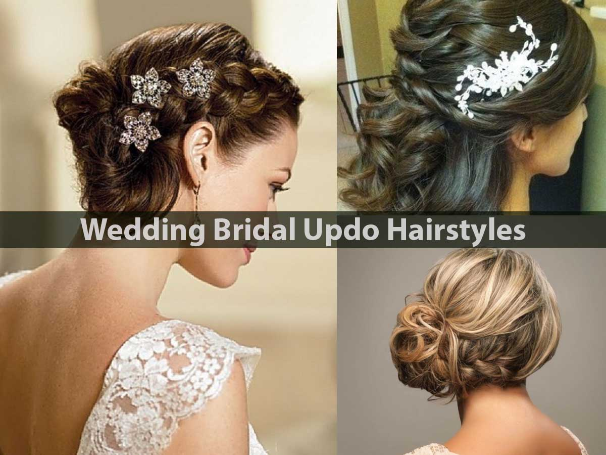 Wedding Bridal Updo Hairstyles
