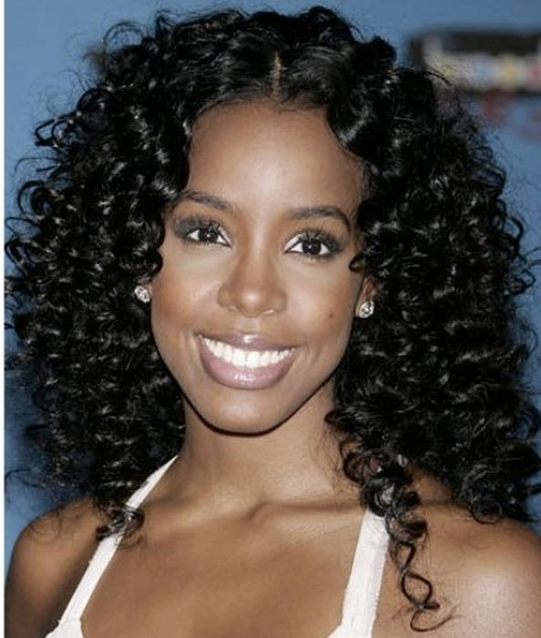 curly hairstyle for black women Curls magic