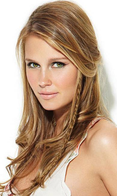 easy hairstyles with braids hanging braid with side parted teased cdrown