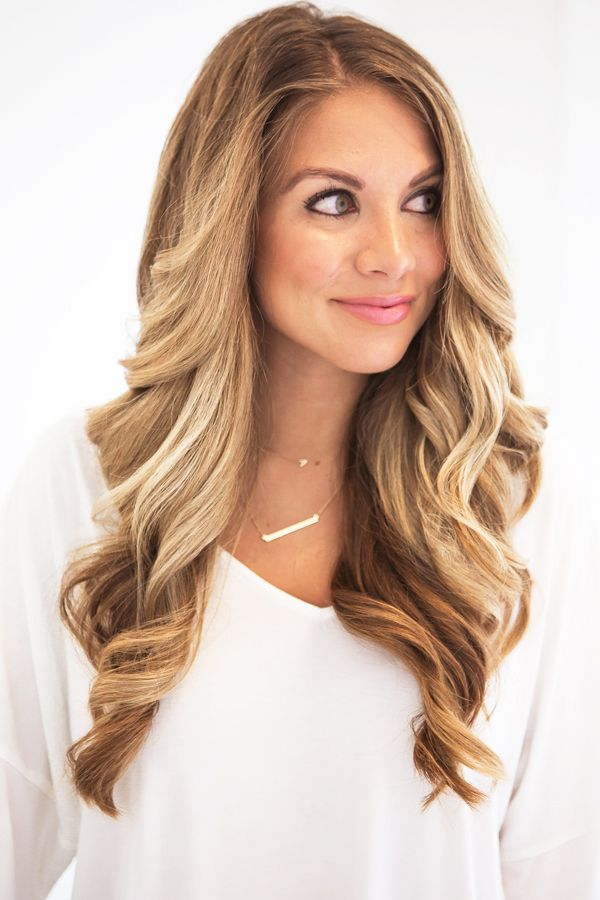 hairstyles for long faces Loose waves