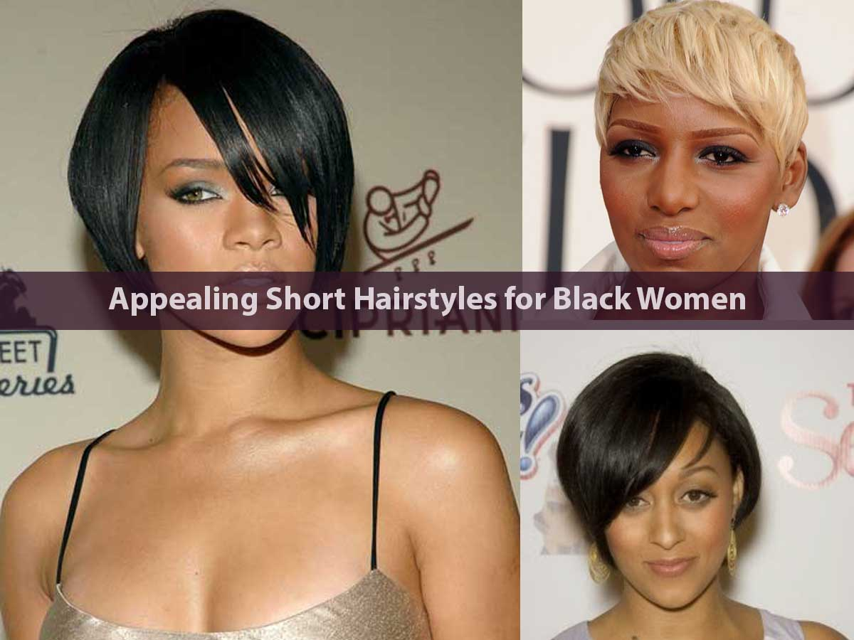 Appealing Short Hairstyles for Black Women