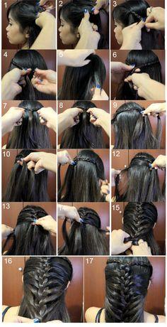 Braided hairstyles for your wedding mermaid braid