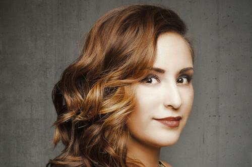 Brown hairstyle ideas with perfect suitable highlight Red glow