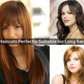 Haircuts Perfectly Suitable for Long hair