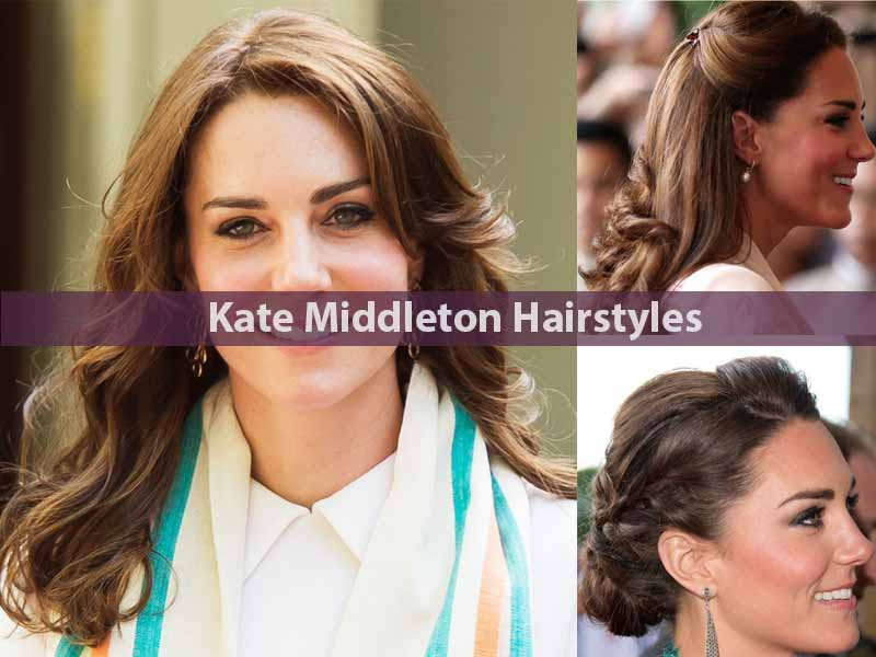 Kate Middleton Hairstyles