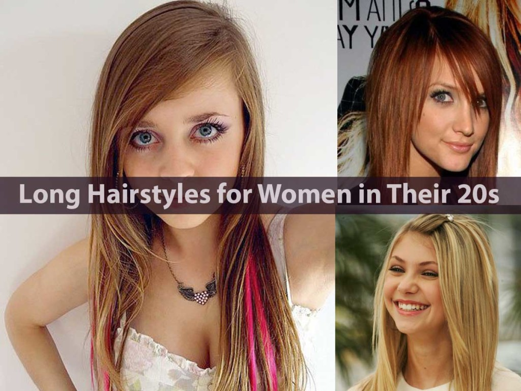 Long Hairstyles for Women in Their 20s