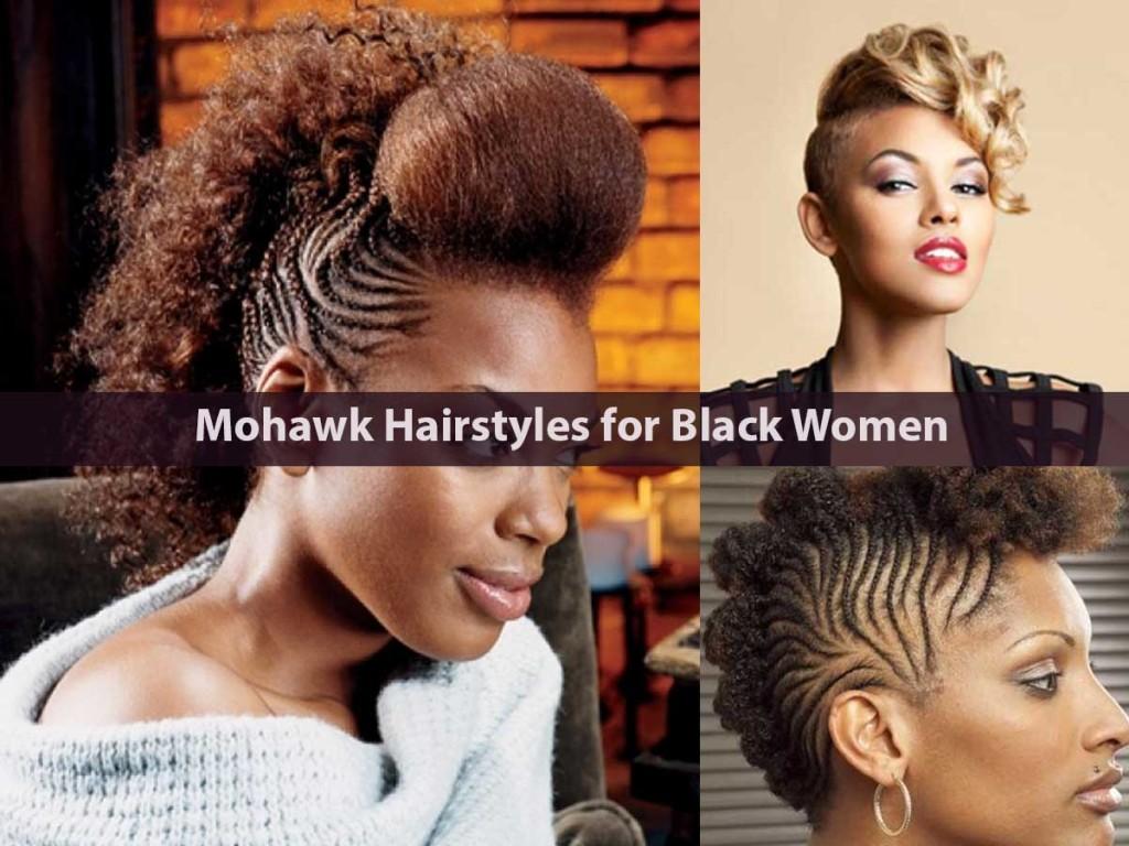 Mohawk Hairstyles for Black Women