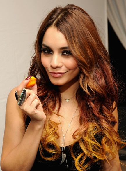 Ombre Hair Color Autumn ombre on long hair