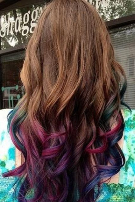 Ombre Hair Color Royal ombre