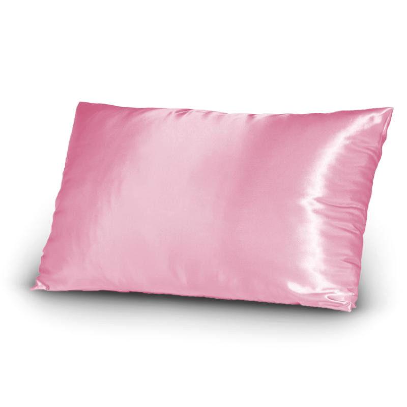 Satin fabric pillow case