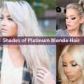Shades of Platinum Blonde Hair