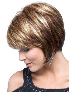 Short Wedge Hairstyles Layered locks