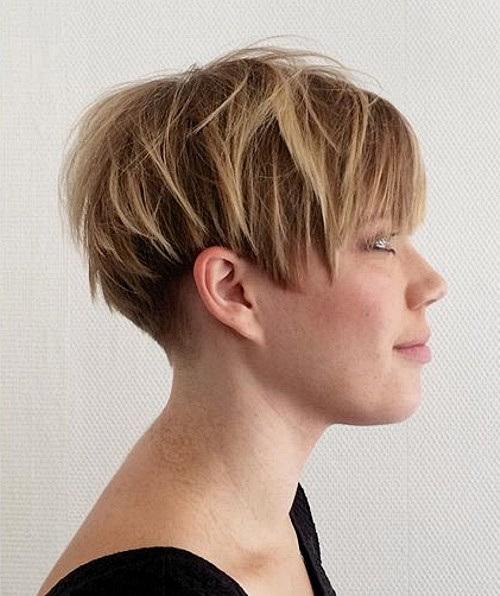 Short Wedge Hairstyles Posh pixie