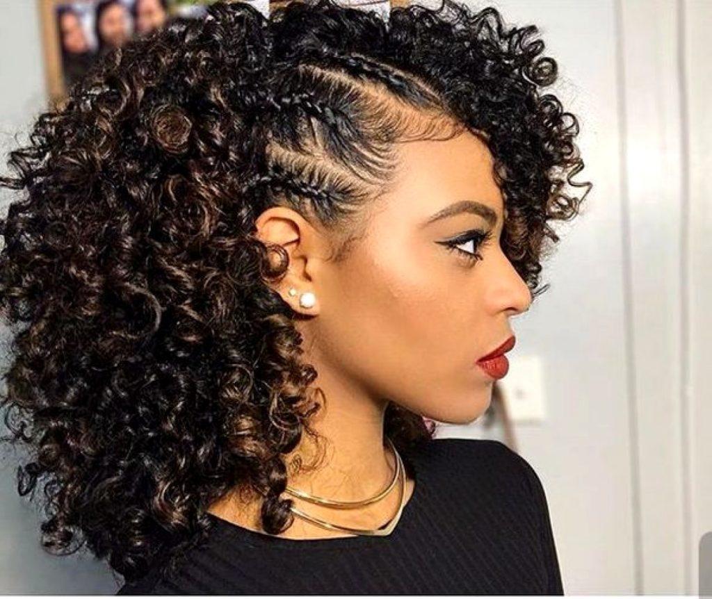 french curls braid