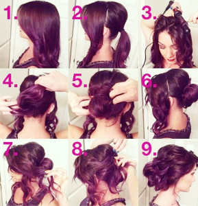 braided updo style for wedding