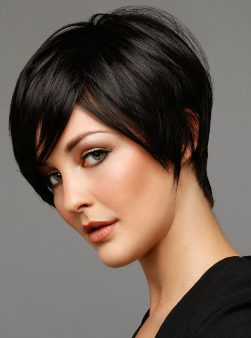 cute hairstyles for girls with short hair Black pixie