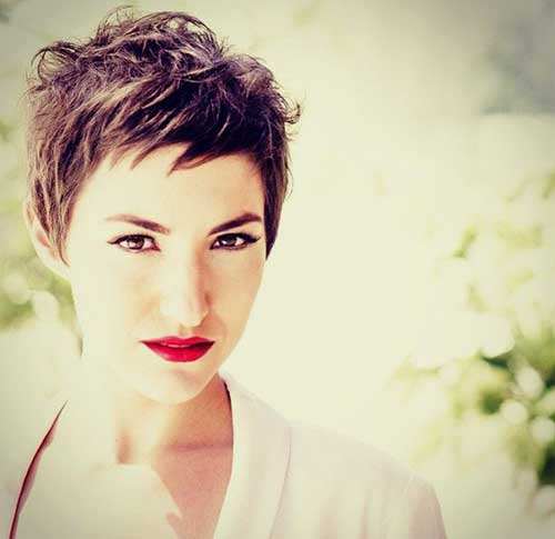 cute hairstyles for girls with short hair Formal pixie