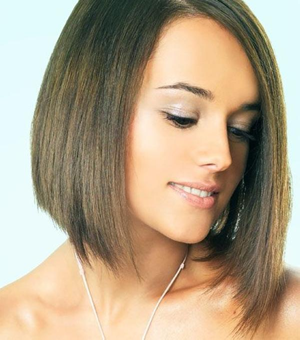 cute hairstyles for girls with short hair Long bob