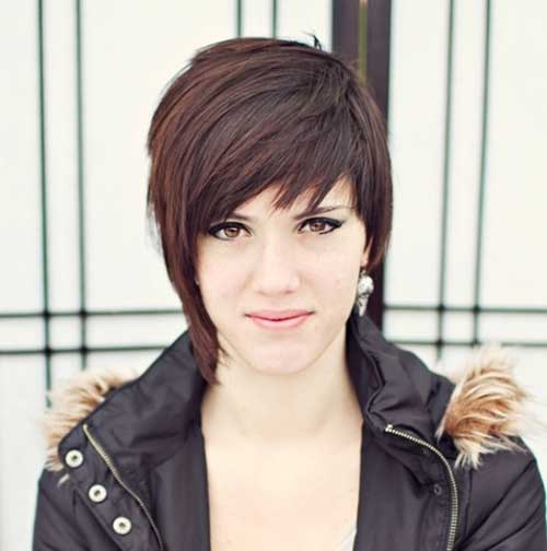cute hairstyles for girls with short hair Messed up