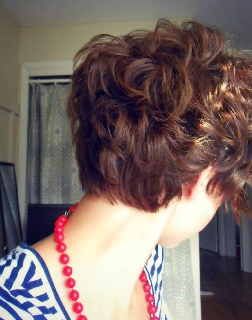 cute hairstyles for girls with short hair Short curls