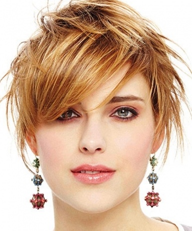 cute hairstyles for girls with short hair Short feather