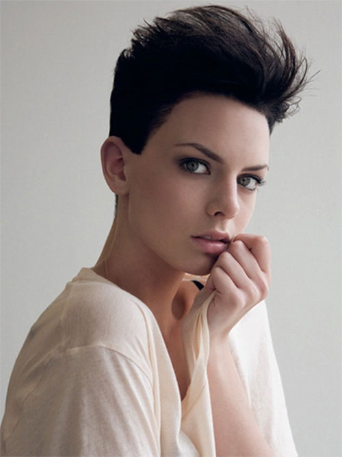 cute hairstyles for girls with short hair Textured short