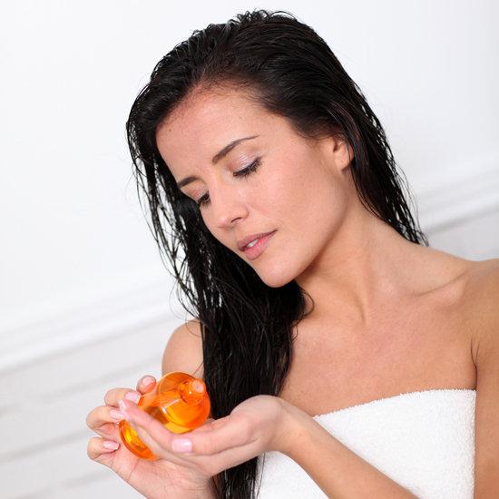 hair oil massag