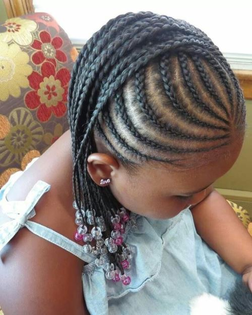 hairstyles for black kids Braided look