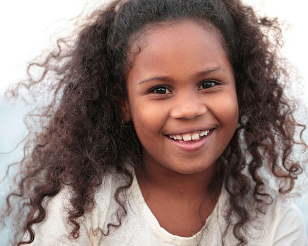 hairstyles for black kids Curls with embleshiment