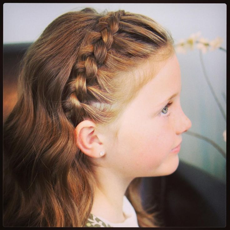 hairstyles for little girls braided bangs