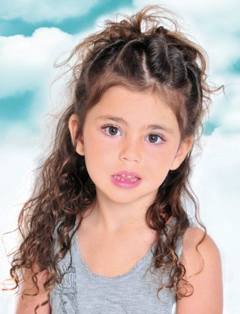 hairstyles for little girls half updo