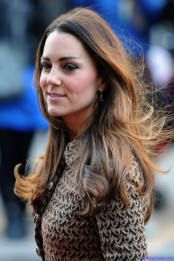 kate middleton hairstyles flicked