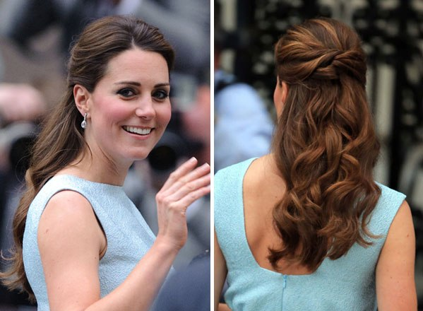 kate middleton hairstyles water fall