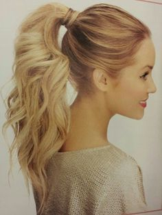 long hairstyles for women with long hair at 40 High ponytail