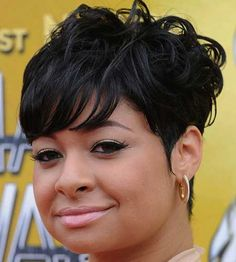 short hairstyles for black women Black phoenix