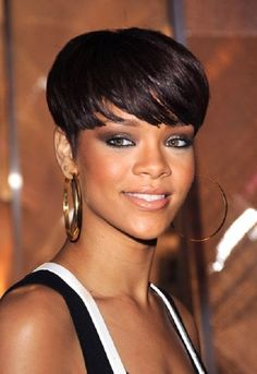 short hairstyles for black women Raven haircut