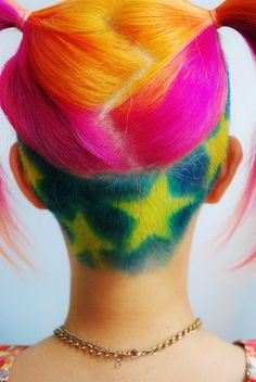 undercut hairstyles for women Rainbow undercut