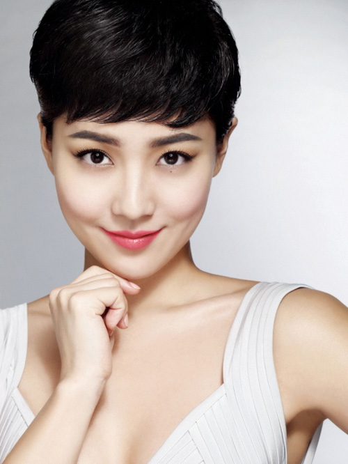 Asian short hairstyles for women Elegant short haircut