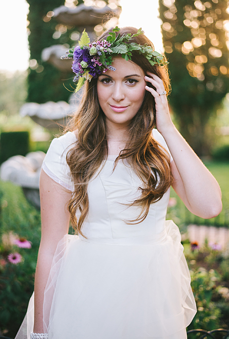 Beautiful Flower Girl Hairstyles Wavy bob