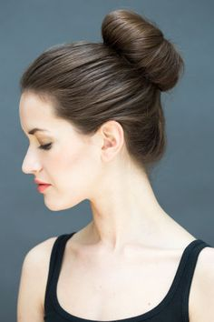 Easy Hairstyles which can be done in Seconds High bun