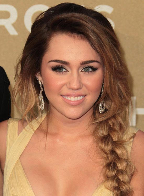 Easy Hairstyles which can be done in Seconds Side braid with bangs