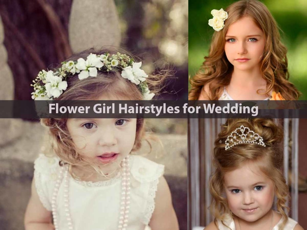 Flower Girl Hairstyles for Wedding