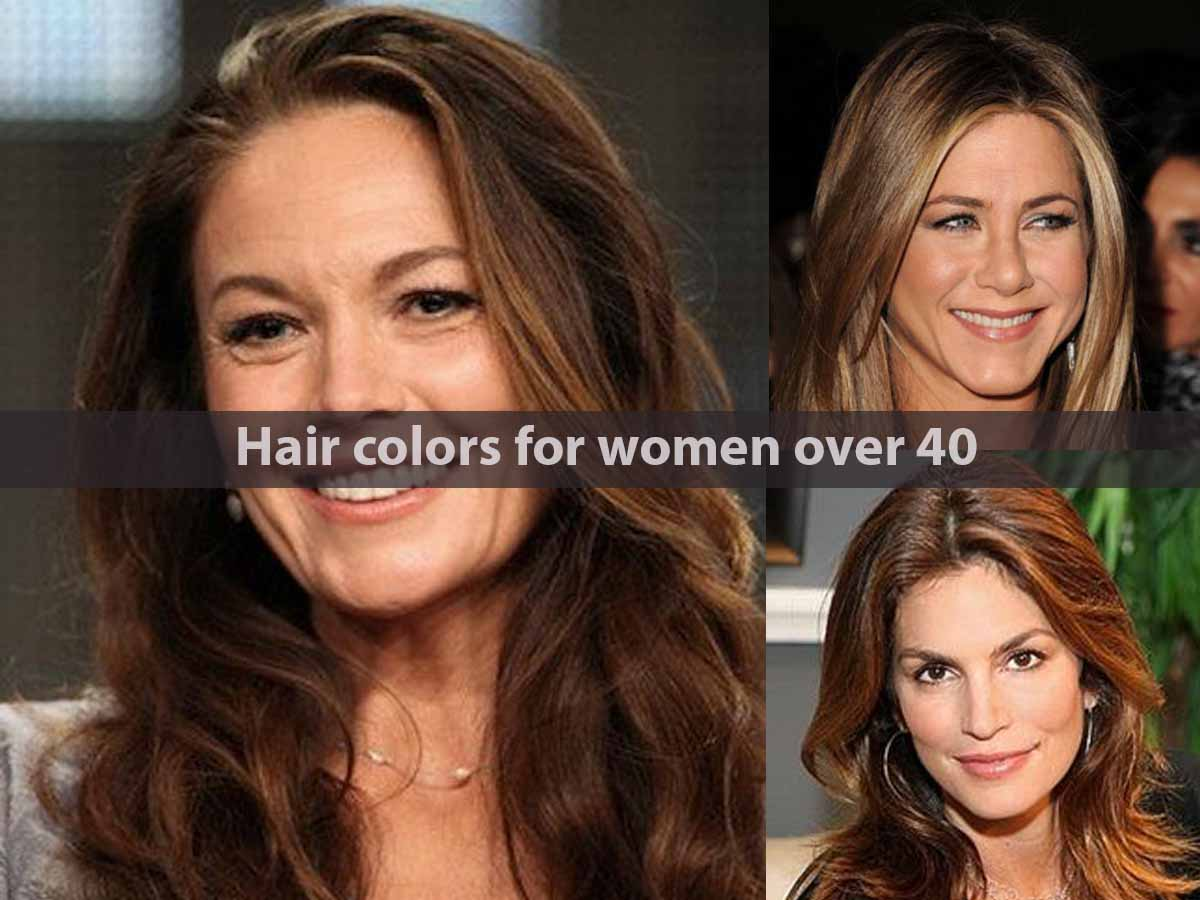 Hair colors for women over 40